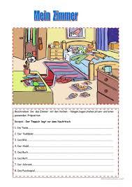 Schlafzimmer Englisch Vokabeln 102 Kostenlose Daf Zimmer Arbeitsblätter
