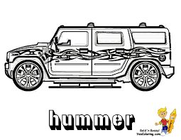 suv cars transportation coloring book pages kids fun art in suv