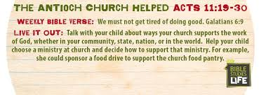 week june 25 u2014the church helped u2014social media plan
