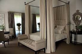 Poster Bed Curtains I This Look Four Poster Bed For Our Bed