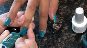 new opi fall gel color so pretty youtube