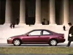 on honda civic commercial 1993 honda civic coupe commercial