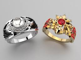 jewelry designs rings images Jewelry designer creates incredible league of legend ring designs jpg