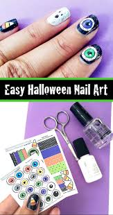 quick halloween nail art 100 directions