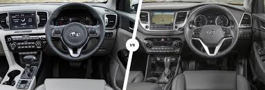 suv kia kia sportage vs hyundai tucson comparison carwow