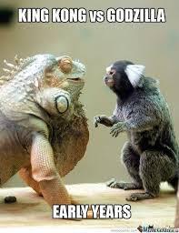 Godzilla Meme - godzilla vs king kong origins meme guy