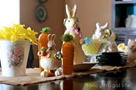 Buffet Table Decor by Fresh Easter Decorations For A Table 10110