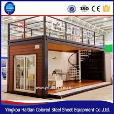 double fast assembly flat pack pre made container house for sale