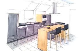 fabriquer une table bar de cuisine cuisine fabriquer une table bar