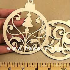 laser cut wood tree ornaments buy laser cut