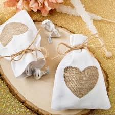 burlap wedding favor bags wedding favor bags