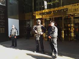 Trump Tower Inside Trump Tower A Frenzy As Trump Prepares For His Biggest Role Yet