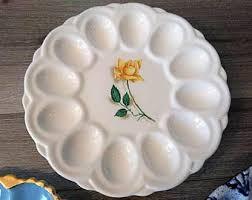 deviled egg plate deviled egg plate etsy