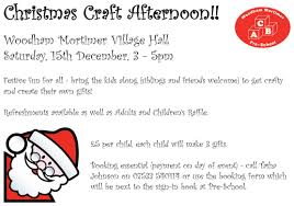 christmas craft event u2013 book your place woodham mortimer pre