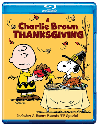 thanksgiving short stories amazon com a charlie brown thanksgiving blu ray various
