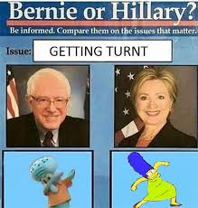 Turnt Meme - 22 best and dumbest exles of the bernie or hillary meme smosh