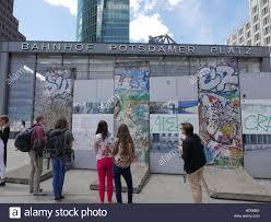 berlin wall sections germany berlin potsdamer platz sections of the berlin wall
