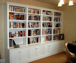 the built in library shelves with books u2013 making it lovely home