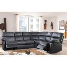 canape cuir relaxation canapé d angle demi cuir avec 2 relax panel meuble magasin de