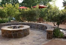 Flagstone Firepit Pit Tx Photo Gallery Landscaping Network