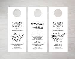 wedding door hanger template wedding door hanger template door decorations