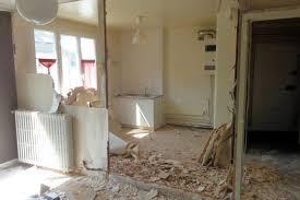 cloison cuisine salon suppression des cloisons entre le couloir la cuisine et le salon
