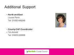 Norfolk County Council Committee System Welcome Information And The Common Assessment Framework