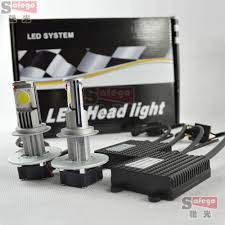 le h7 led aliexpress buy 1 set free shipping 30w per blub led