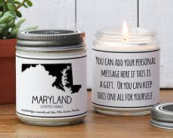 Homesick Candle Indiana Scented Candle Homesick Gift Miss Home Gift
