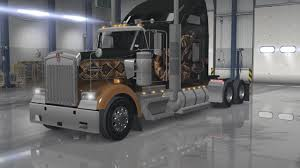 kenworth parts used kenworth w900 interior exterior rework american truck simulator