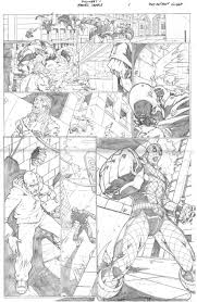 Sample Page Marvel Sample Page 1 By Raheight2002 2012 On Deviantart