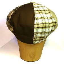 Patchwork Cap - wig礬ns cotton patchwork cap sivletto