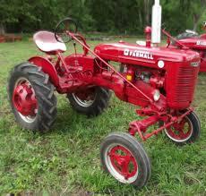 1940 mccormick farmall a culti vision tractor item c2110