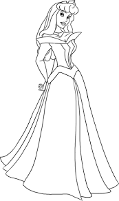 sleeping beauty ballet coloring pages free aurora in a hut