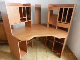 bureau d angle meuble de bureau d angle marron clair occasion chauché 85140