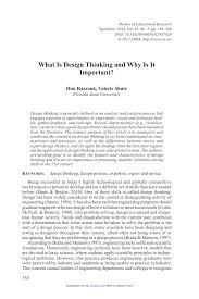 what is design thinking and why is it important pdf download