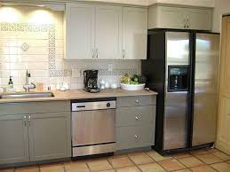 should i paint my kitchen cabinets white charming painted kitchen cabinet makeover before and after laminate