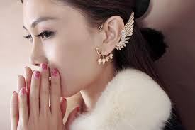 ear earring ear cuff earrings are hot now