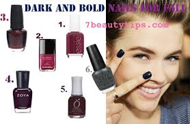 5 nail polish color trends fall 2012 u2013 7beautytips