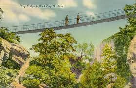 Rock City Gardens Chattanooga Postcards From Hamilton County Tennessee