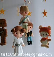 Handmade Nursery Decor by Princess Leia Han Solo Chewbacca Luke Skywalker Ewok Baby
