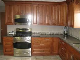 kitchen stainless steel appliances with oak cabinets great paint
