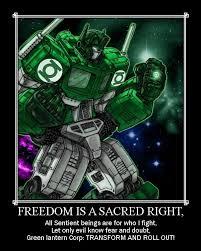 Batman Green Lantern Meme - image 787783 transformers know your meme