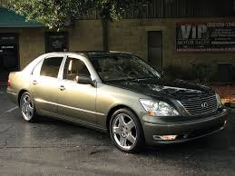 lexus ls 430 price in usa find used 1 owner clean autocheck nav 18