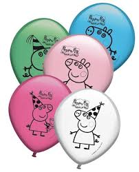 pig balloons peppa pig birthday decorations peppa pig balloons partyweb us
