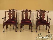 mahogany dining chairs ebay