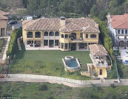 Bel Air Mansion Kim Kardashian And Kanye West U0027s Renovations At Mansion Revealed