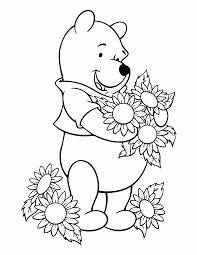 coloring pages winnie pooh classic kids coloring