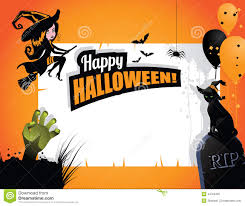 halloween background witch halloween background witch cat hand balloons stock vector image