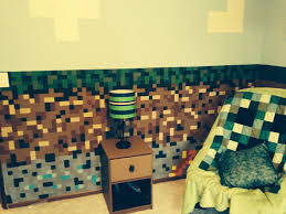 minecraft bedroom for my 9 year old son minecraft bedroom